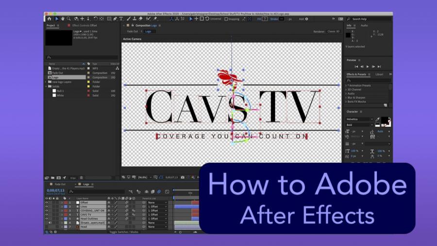 CavsTV+Tutorials%3A+Adobe+After+Effects