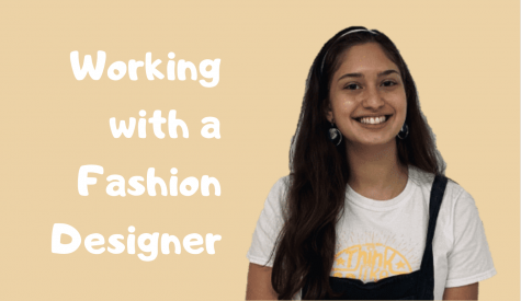 Senior Isa Vilarroel obtains a fashion internship with Maria D