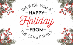 Happy Holidays From Our Cavalier Family