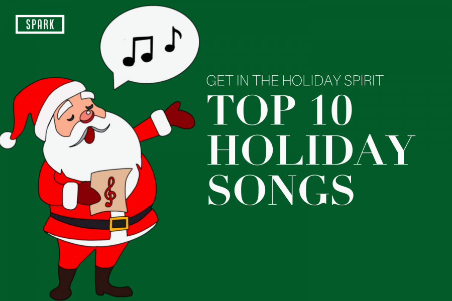Top Ten Songs To Get You In The Holiday Spirit
