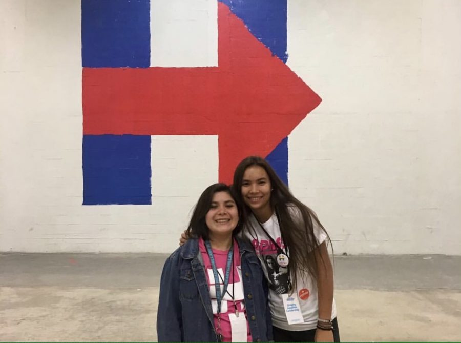 Her working for the Hilary Clinton campaign in South Florida