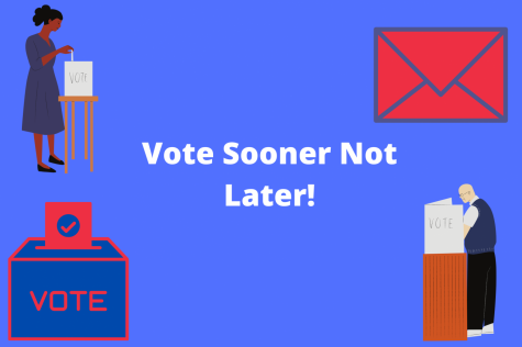 As we enter crunch time to the election, the best way to ensure your voice is heard...is to vote early!