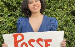Arianna Peña was awarded the Posse Scholarship for her first choice school, Mount Holyoke.