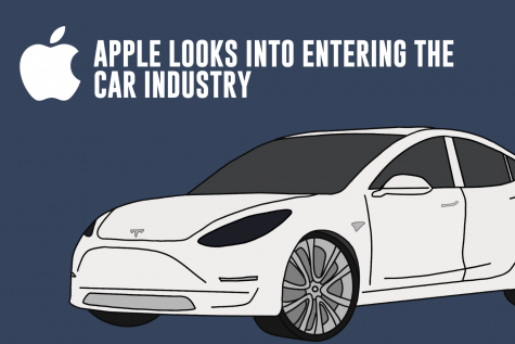 Apple announce they will make a self-driving electric vehicle by the year 2024.