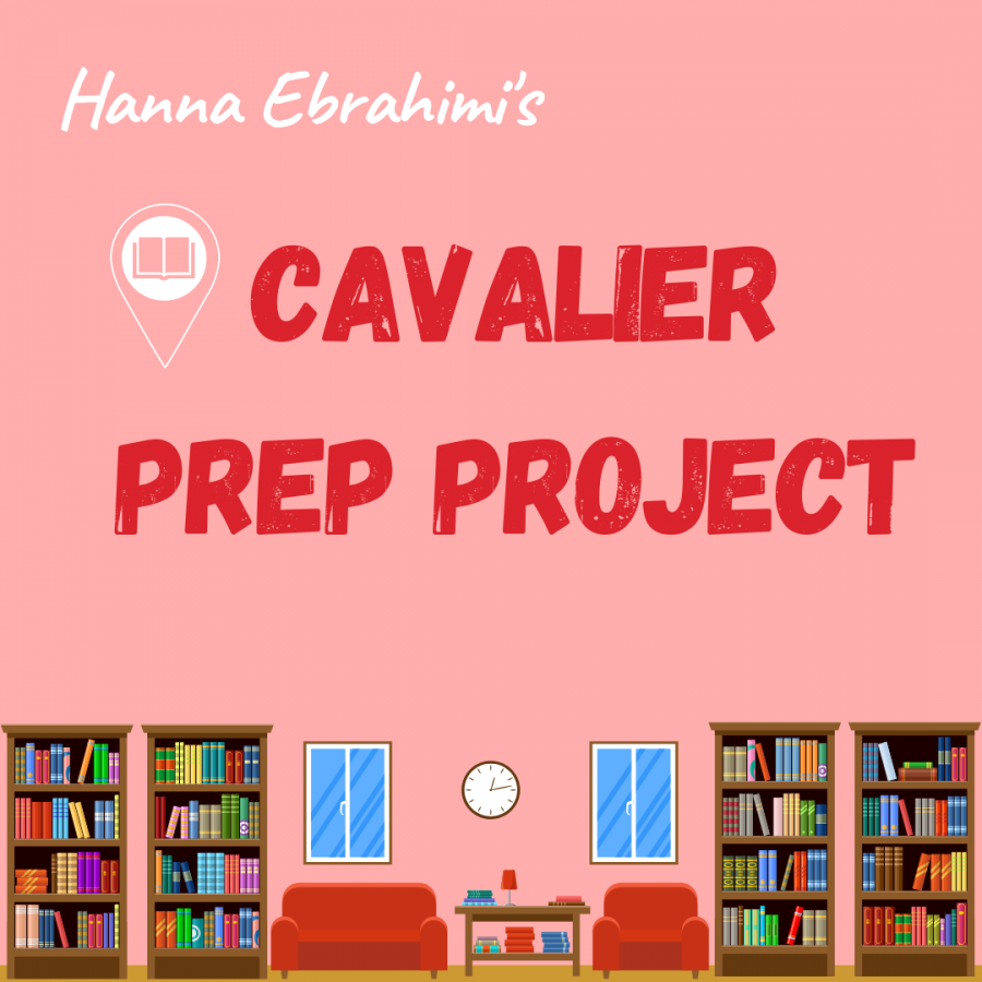 The library of test prep books readily available to any Gables student is coordinated by, senior, Hanna Ebrahimi.