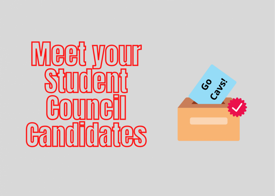Below, you can get to know your student council candidates!