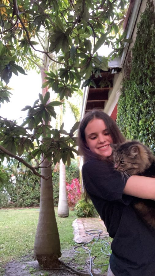 Sophia Weigel aspires to become a veterinarian due to her strong compassion towards animals.