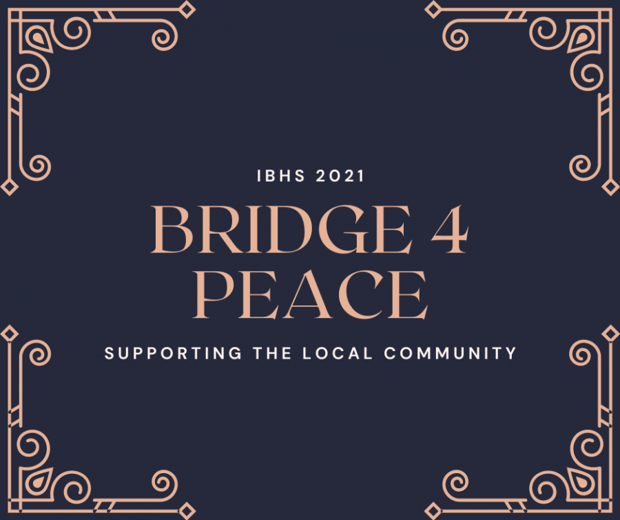 With the ongoing pandemic, Bridge for Peace's philanthropy serves as a way to give back to the community.