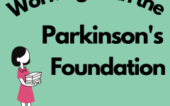 Camila Ruiz balances working with the Parkinson's Foundation with her other responsibilities.
