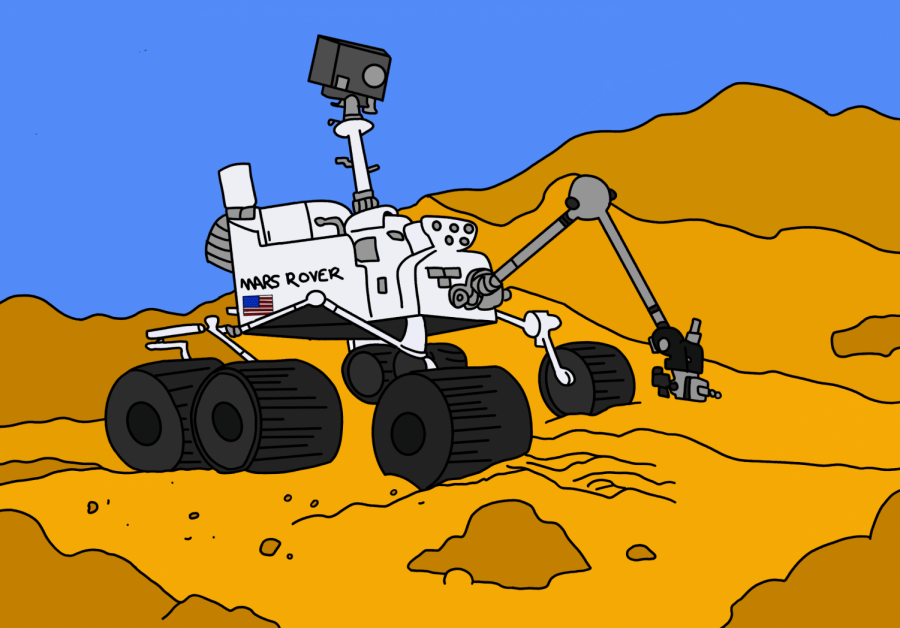 The+Martian+Rover%2C+Perseverance%2C+has+successfully+landed+on+Mars.+The+rover+landed+on+Thursday%2C+Feb.18.