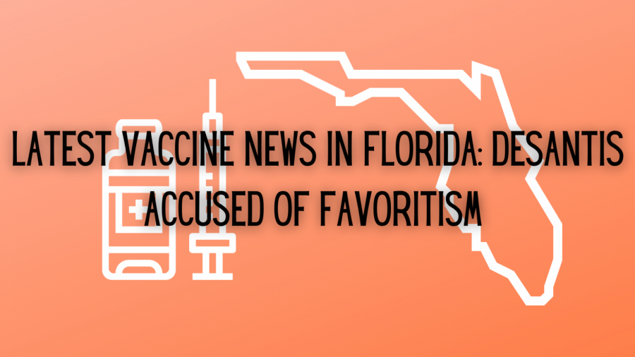 The latest regulations for vaccine distribution in Florida were announced by DeSantis earlier this week. Meanwhile, Democrats accuse the Governor of favoritism during this time of crisis.