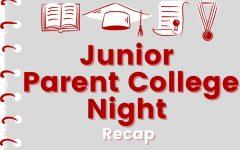 Junior Parent College Night Recap