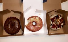 The Salty Donut offers a wide variety of flavors and options.