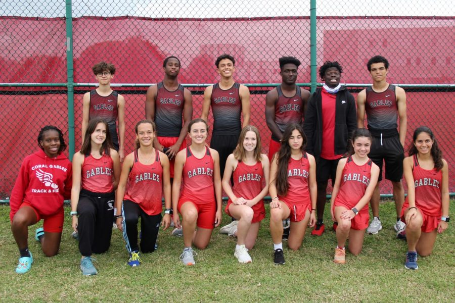 The Cavalier track and field team kicked off the 2021 season with a successful first match on Monday, March 8.