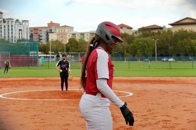 On Feb.23, the Lady Cavaliers had their first official game of the season against the Southwest Eagles at the gables' softball field.
