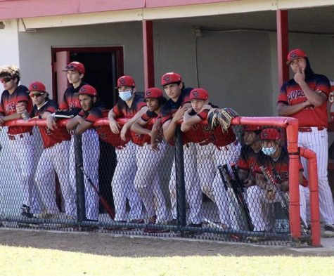 With an attentive look, the Cavalier baseball team faced off against the Miami High Stingrays.