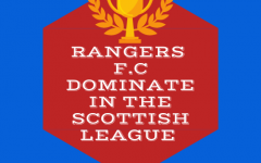 Steven Gerrard, manager of Rangers, allows his club to breeze through the Scottish League as a result of his brilliant playmaking.