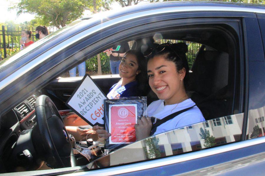 Class of 2021 Celebration Drive By: Awards Station