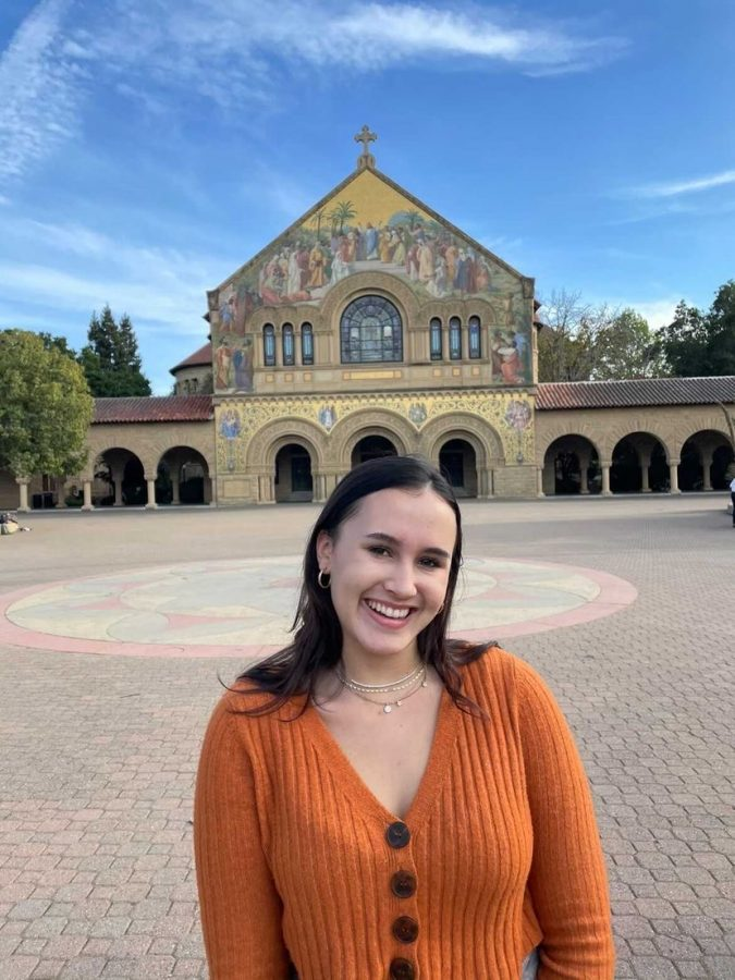 Alexandra Torres at the Stanford University campus in California.