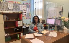 Settling into her newly decorated office, Ms. Perez is prepared to offer advice (both in-person and online) to any inquiring students.