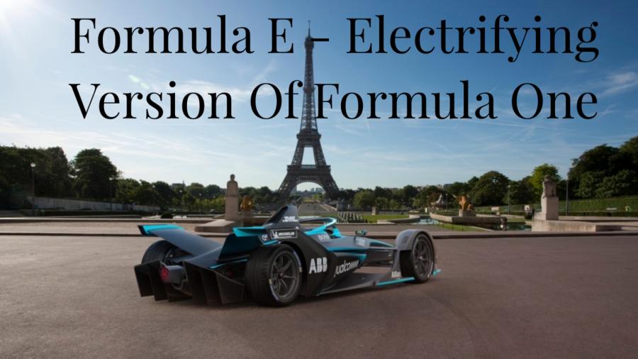 Formula E reveals the new Gen 2 Electric vehicle.