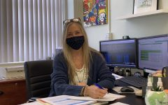 Although the first week of school is always filled with Cavalier craziness, Ms. Kurzner has begun to settle down into her office and get into the swing of things.