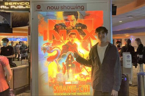 Staff writer Nicholas Calindro viewed Marvels newest installment Shang-Chi and the Legend of the Ten Rings in theaters on opening day, Sep. 3, 2021