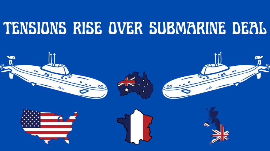 Australia breaks a submarine deal with France after months of consideration in favor of making one with the U.S.