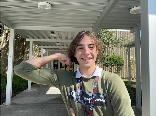 Abner Fuentes is a sophomore in the Health, Science, Public Service and Law Program here at Gables.