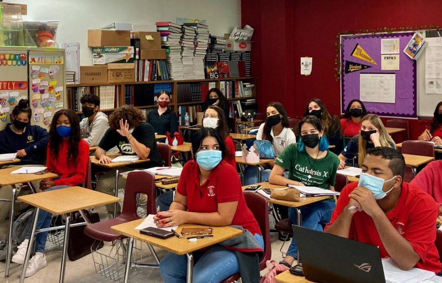 As+school+begins+there+is+a+mask+mandate+in+place+for+Miami+Dade+County.+Despite+backlash%2C+it+is+essential+for+the+sake+of+public+health.