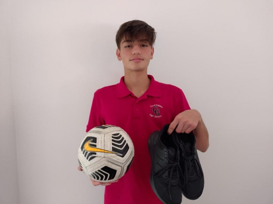 Freshman Santiago Gonzalez has set high expectations for himself this school year. Aside from competing with the Cross Country team, Gonzalez is hoping he can make it onto the Cavaliers Varsity soccer squad.
