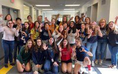 CavsConnect 2019-2020 Staff celebrating Spirit Week